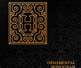Vintage ornaments pattern luxury design vector 05