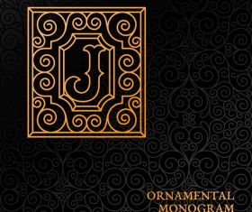 Vintage ornaments pattern luxury design vector 07