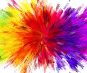 Watercolor Explosive Textures Stock Photo 01