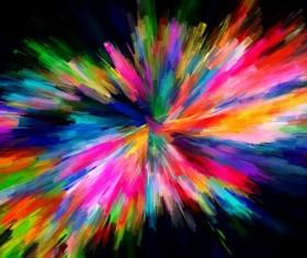 Watercolor Explosive Textures Stock Photo 04