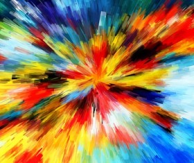 Watercolor Explosive Textures Stock Photo 05