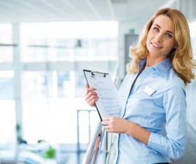 Workplace women Stock Photo 06