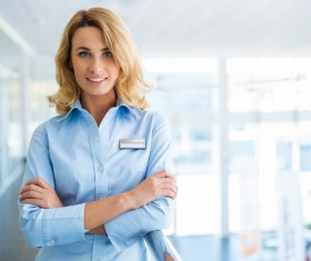 Workplace women Stock Photo 07