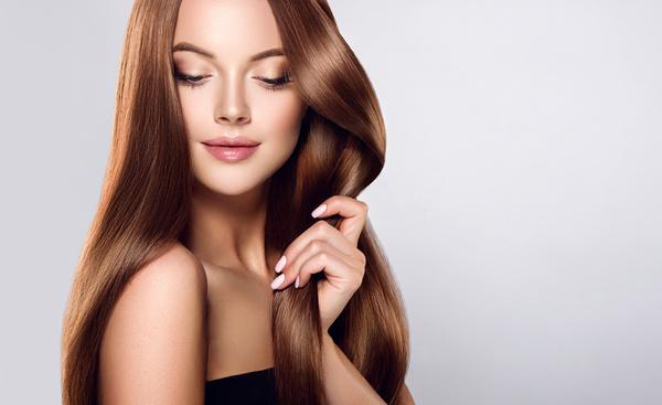 beautiful long hair girl Stock Photo 03