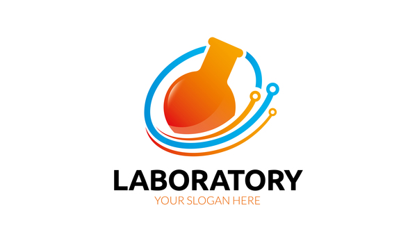 laboratory logo vector