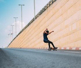 play skater boy Stock Photo