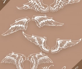 4 Kind Wings Photoshop Brushes