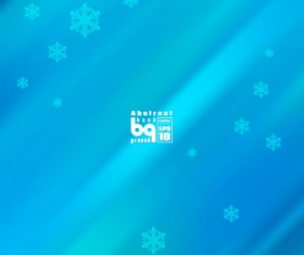 Abstract background with snowflake vectors 02