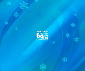 Abstract background with snowflake vectors 03