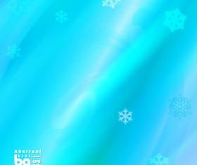 Abstract background with snowflake vectors 05