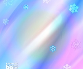 Abstract background with snowflake vectors 06