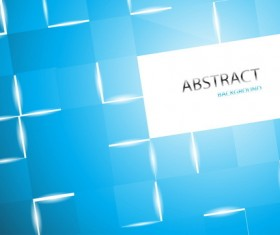 Abstract blue modern background vector