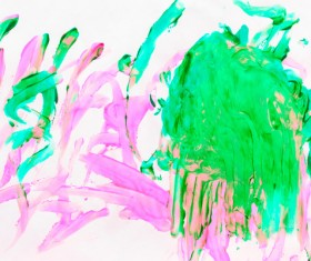 Abstract oil painting Stock Photo 04
