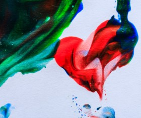 Abstract oil painting Stock Photo 07