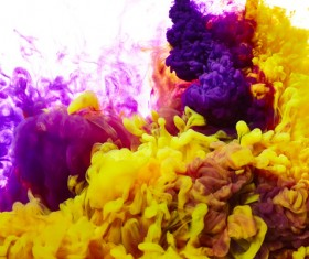 Abstract splash of color Stock Photo 04