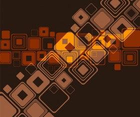 Abstract square background vectors material 05