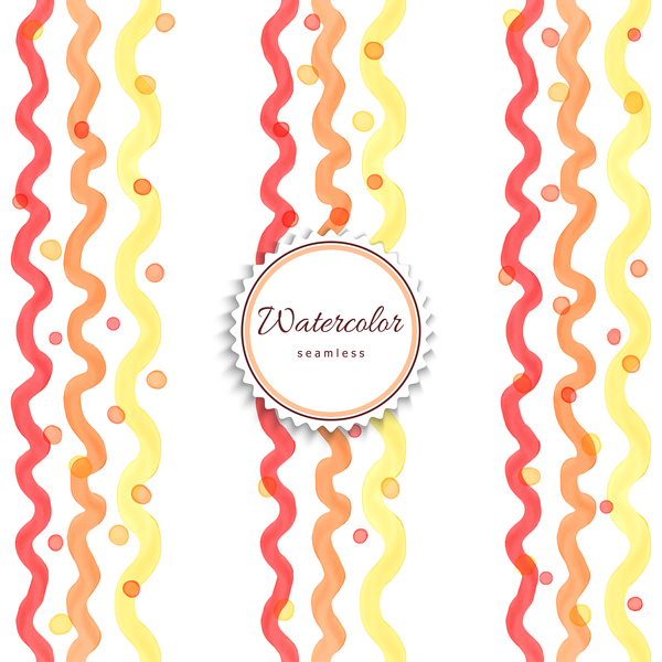 Abstract watercolor hand drawn background vector 03