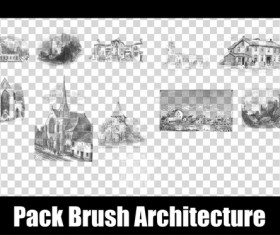 Architecture Photoshop Brushes
