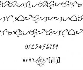 Baybayin Modern Script Font