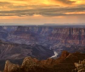 Beautiful American Horseshoe Bay Grand Canyon Stock Photo