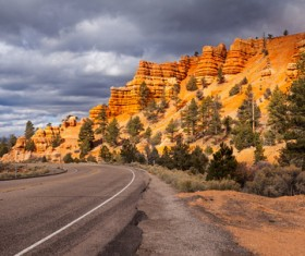 Beautiful Grand Canyon National Park landscape Stock Photo 08