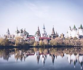 Beautiful Russian architecture Stock Photo 01