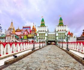 Beautiful Russian architecture Stock Photo 02