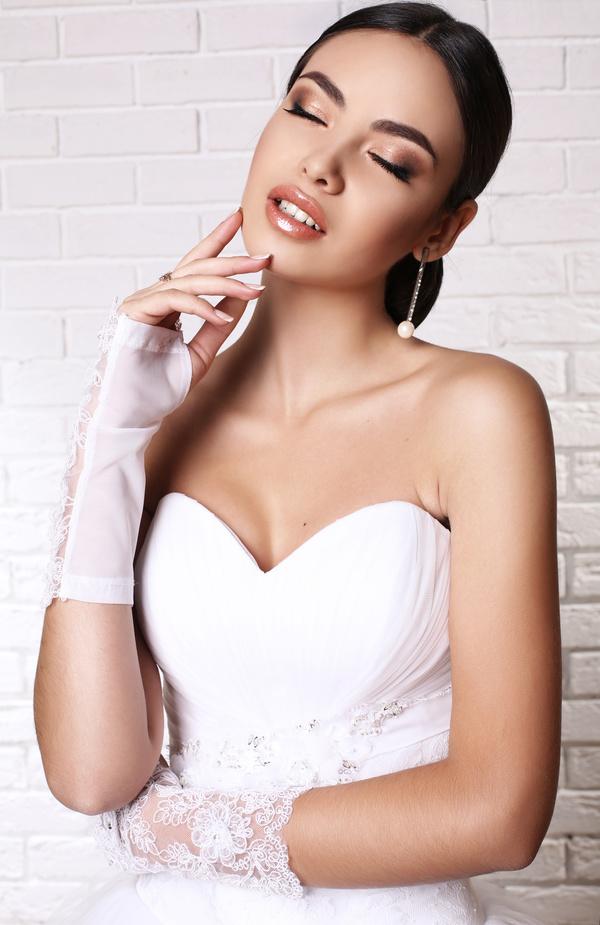 Beautiful bride photography Stock Photo 02