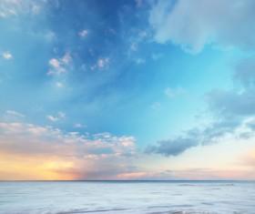 Beautiful horizon Hongxia Stock Photo 02