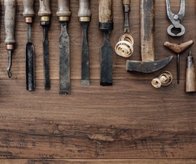 Carpenter professional tools Stock Photo 08