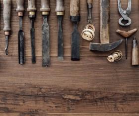 Carpenter professional tools Stock Photo 08