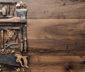 Carpenter professional tools Stock Photo 09