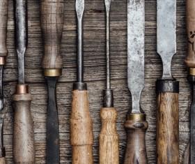 Carpenter professional tools Stock Photo 11