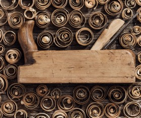Carpenter professional tools Stock Photo 12