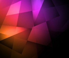 Dark geometric shape background vector