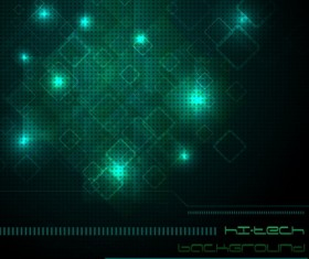 Dark green light background vector