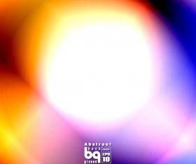 Dazzling colored light blurs background vector 01