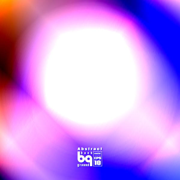 Dazzling colored light blurs background vector 02