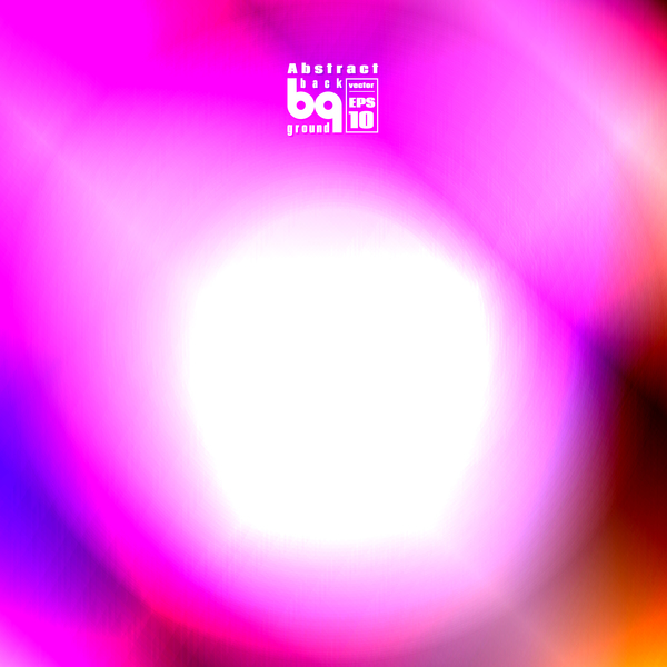 Dazzling colored light blurs background vector 03