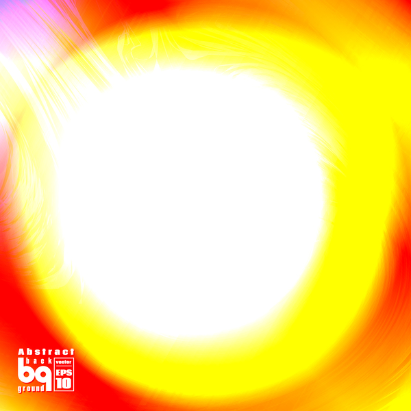 Dazzling colored light blurs background vector 06