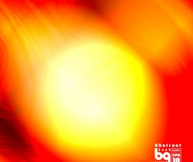 Dazzling colored light blurs background vector 07