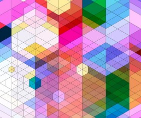 Dense triangle backgrounds vectors 02