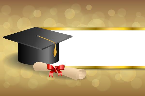 Graduation Wallpaper Background Vector Enam Wallpaper
