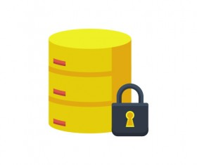 Encrypted Database Icon