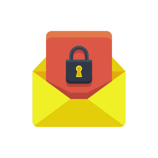 Image result for email lock icon