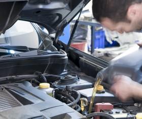 Engine change oil Stock Photo 02