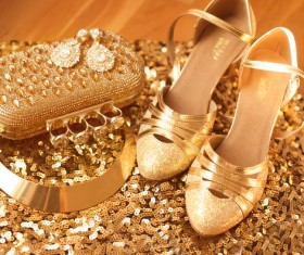 Fashion luxury ladies accessories and shoes Stock Photo 05