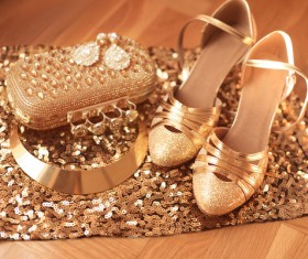 Fashion luxury ladies accessories and shoes Stock Photo 06