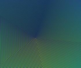 Halftone gradient geometric lines background vector 10
