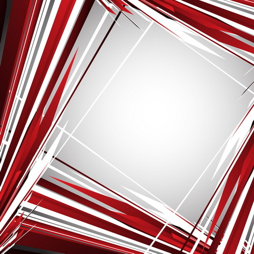 Hand drawn square background vector